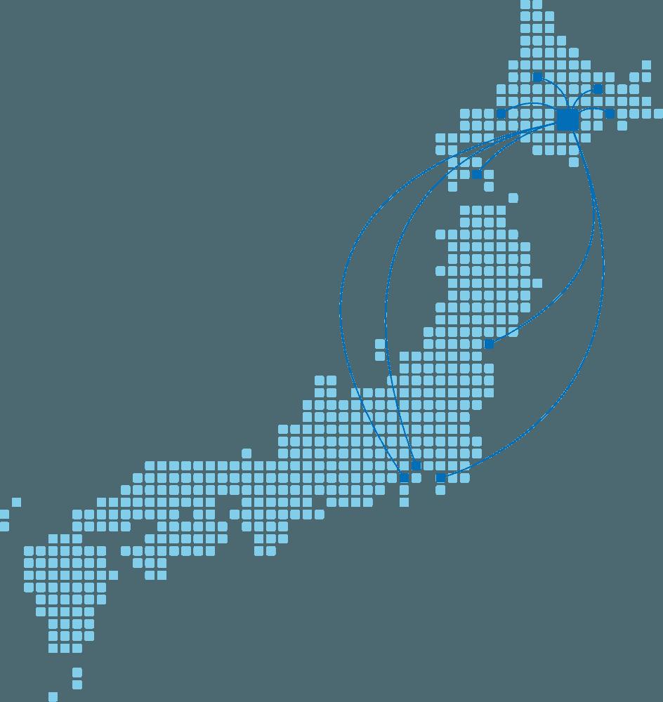 イメージ図/全国ネットワーク